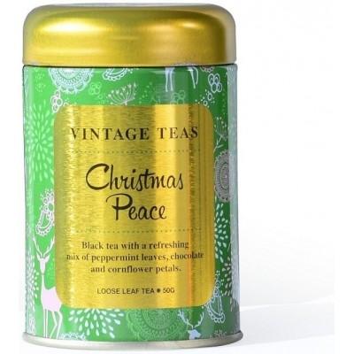 Vintage Teas Christmas Peace - černý čaj sypaný 50g