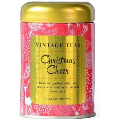 Vintage Teas Christmas Cheers - černý čaj sypaný 50g