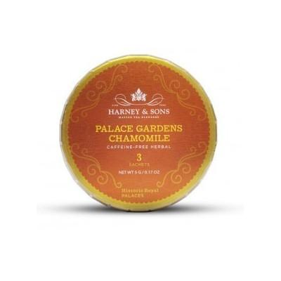 Harney & Sons čaj Heřmánek Palace gardens 3 hedvábné sáčkyagalong
