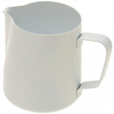 Džezva na zpěnění mléka 0,6 l teflonová bílá