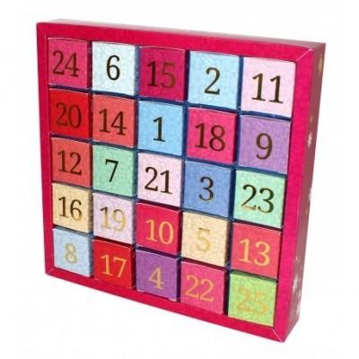 ETS Adventní kalendář BIO Číselný - 25 Sáčků