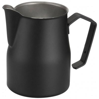 Džezva na zpěnění mléka 0,35 l nerezová ocel černá