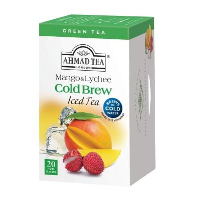 Ahmad Tea Cold Brew Iced Tea Mango & Lychee 20 x 2 g