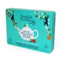 ETS 36 - plechová zelená kazeta wellness 36 bio sáčků čaje