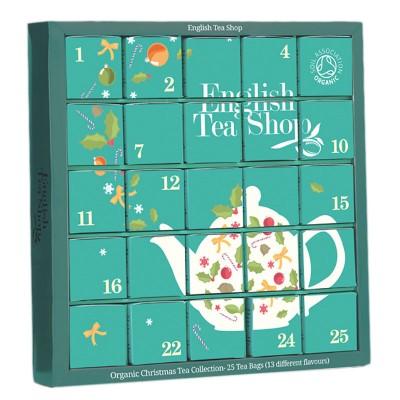ETS Adventní bio kalendář Modrý - 25 Sáčků