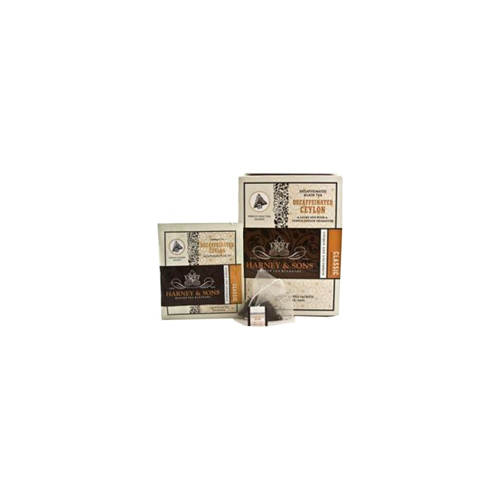 Harney & Sons Bezkofeinový Ceylon - Wrapped Sachets