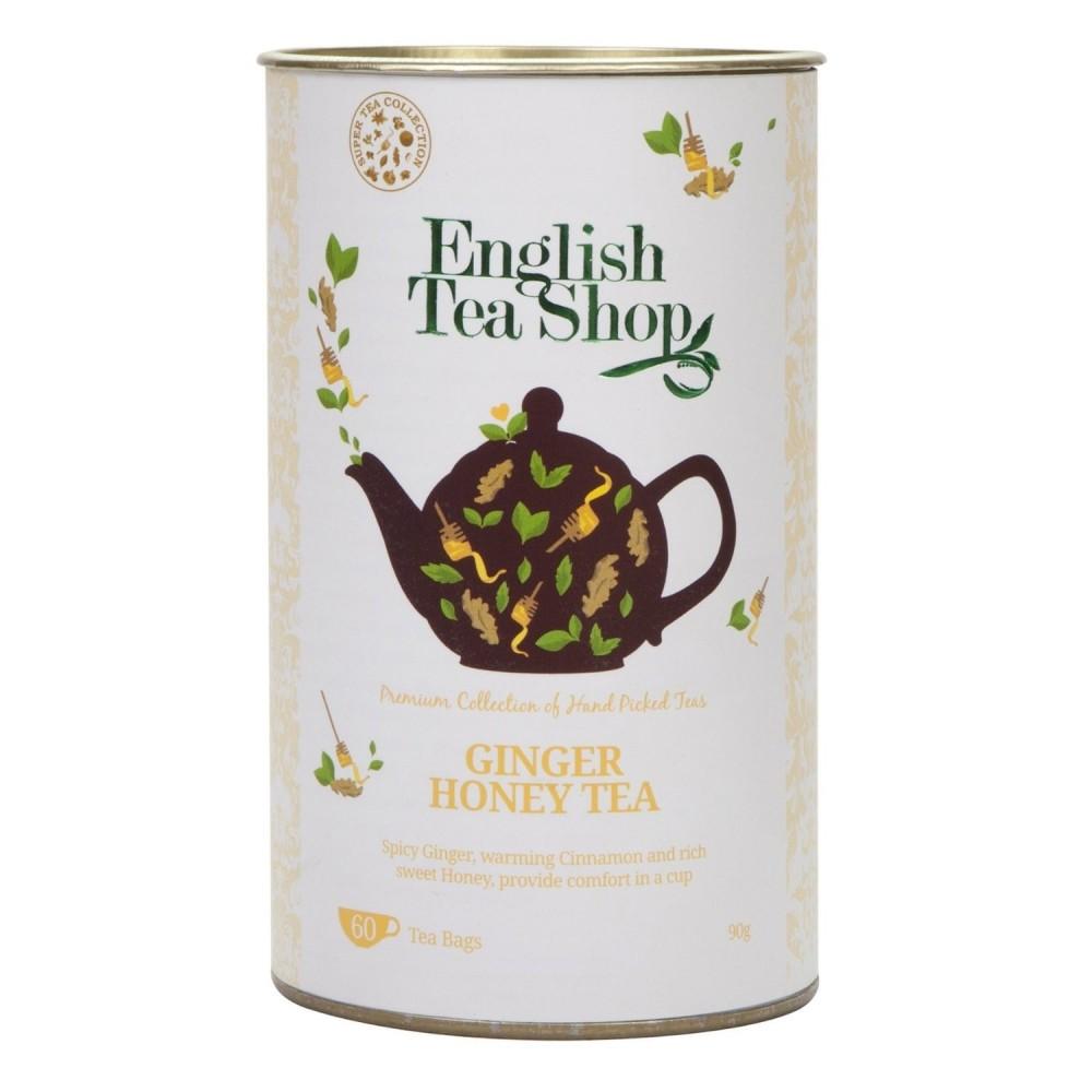 The English Tea Shop Zázvor a med, černý čaj 60 sáčků