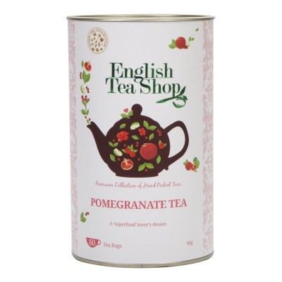 The English Tea Shop čaj Granátové jablko a rooibos 60 sáčků