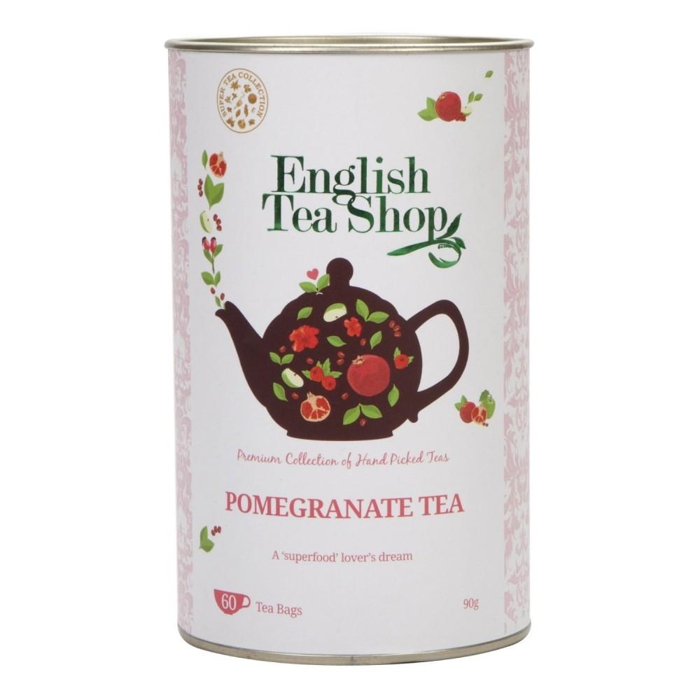 The English Tea Shop čaj Granátové jablko a rooibos 60 sáčků