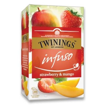 Twinings Strawbery Mango 20 x 2 g