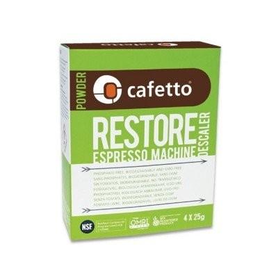 Cafetto Restore Descaler 4x25g - prostředek na odstranění...
