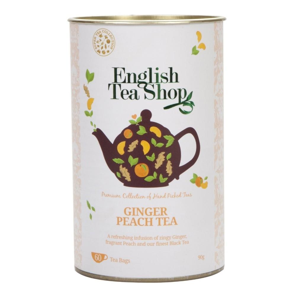 The English Tea Shop Zázvor a broskev černý čaj