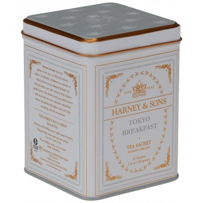 Harney & Sons čaj Tokyo Breakfast 20 hedvábných sáčků v...