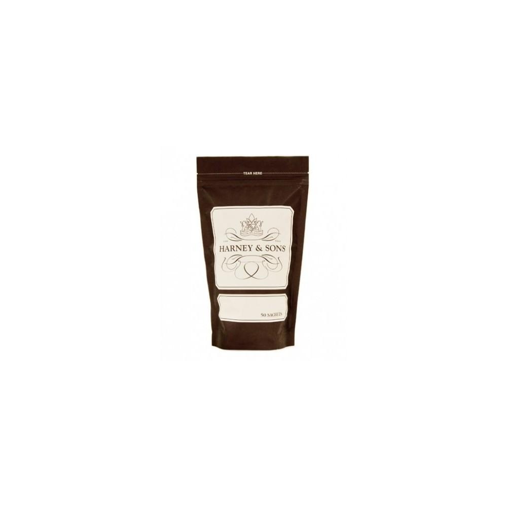 Harney & Sons Raspberry Herbal 50 pyramidových čajů