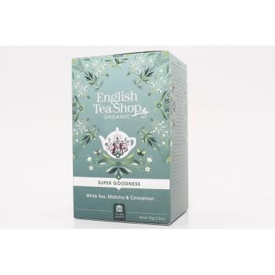 English Tea Shop Bílý čaj Matcha a Skořice Mandala 20 sáčků