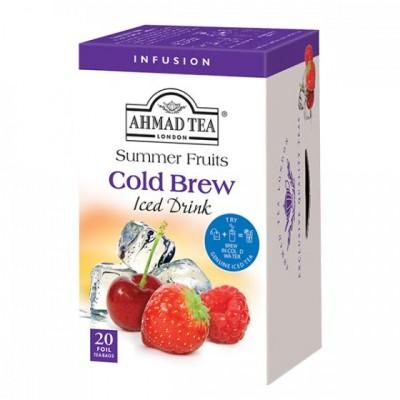 Ahmad Tea Cold Brew Iced Tea Ovocný ledový čaj 20 x 2 g