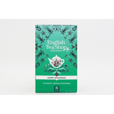 English Tea Shop Brusinka, ibišek a šípek Mandala 20 sáčků