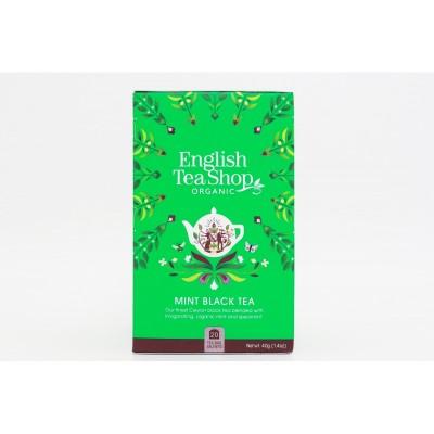 English Tea Shop Černý Čaj s Mátou Mandala 20 sáčků
