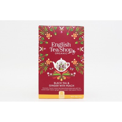 English Tea Shop Černý Čaj se zázvorem a broskví Mandala...