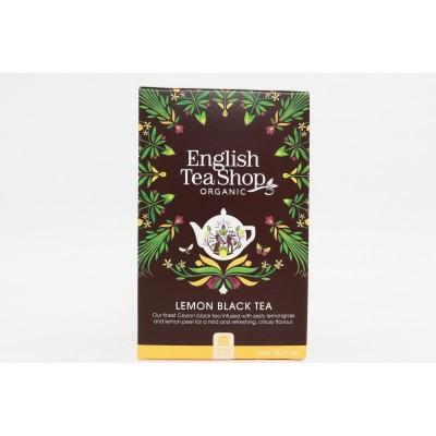 English Tea Shop černý čaj s citronem Mandala 20 sáčků