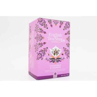 English Tea Shop Heřmánek a Levandule Mandala 20 sáčků