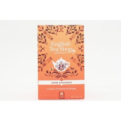 English Tea Shop Kakao, skořice a zázvor Mandala 20 sáčků