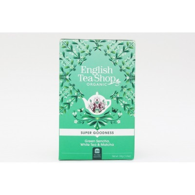 English Tea Shop Sencha, bílý čaj a matcha Mandala 20 sáčků
