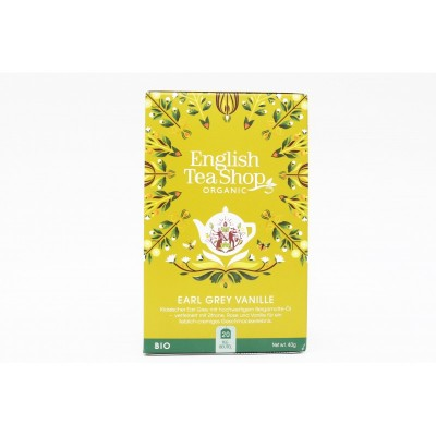 English Tea Shop Vanilka a Earl Grey Mandala 20 sáčků