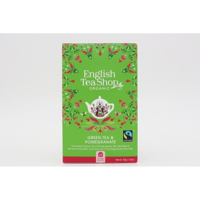 English Tea Shop Zelený čaj s granátovým jablkem Mandala...