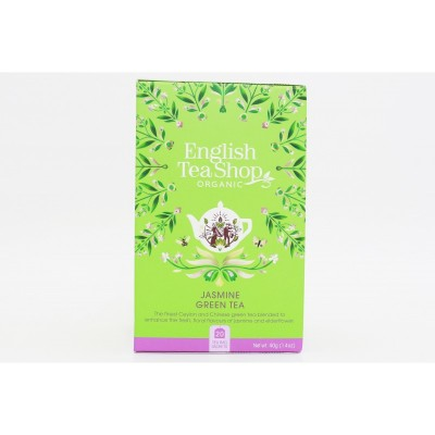 English Tea Shop Zelený čaj s jasmínem a bezinkou Mandala...
