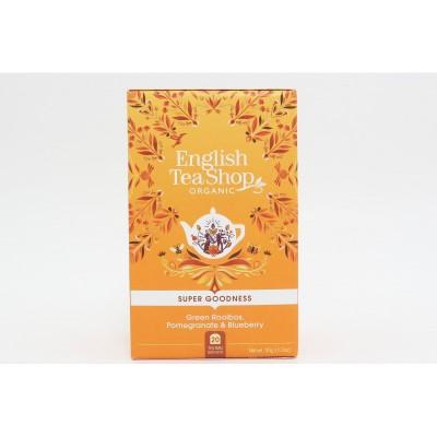 English Tea Shop Zelený rooibos, granátové jablko a...