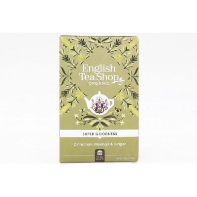 English Tea Shop Skořice, moringa a zázvor Mandala 20 sáčků