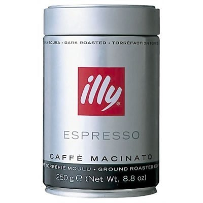 illy Mletá káva dark 250 g