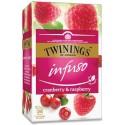 Twinings Ovocný čaj BRUSINKA & MALINA 20 x 2g