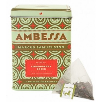 Harney and sons Ambessa Lingonberry Green