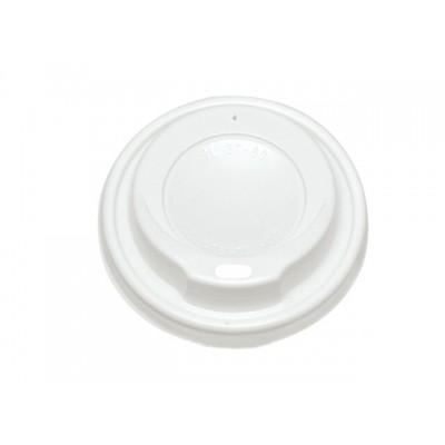Víčko s otvorem na kelímek 200/250 ml bílé 100 ks