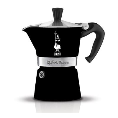 Moka kávovar Bialetti Moka Express Black 6 porcí