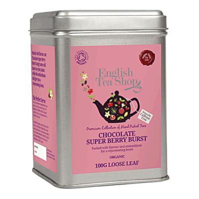 ETS Příval čokolády a super ovoce, sypaný čaj 100 g