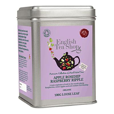 ETS Šumný Šípek, Jablko a Malina, sypaný čaj 100 g