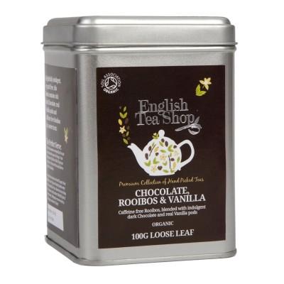 ETS čokoláda, rooibos & vanilka 100g sypaný čaj