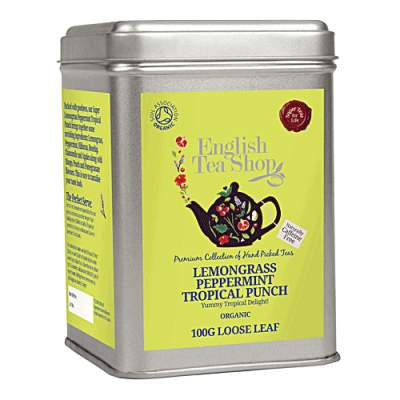 ETS Citronová tráva, máta, tropické ovoce, sypaný čaj 100 g