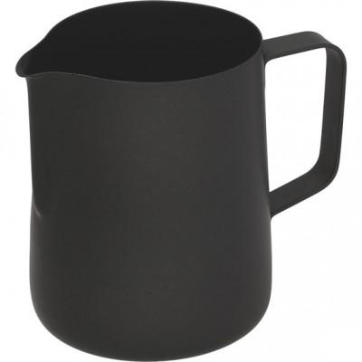 Džezva na zpěnění mléka 0,6 l teflonová černá