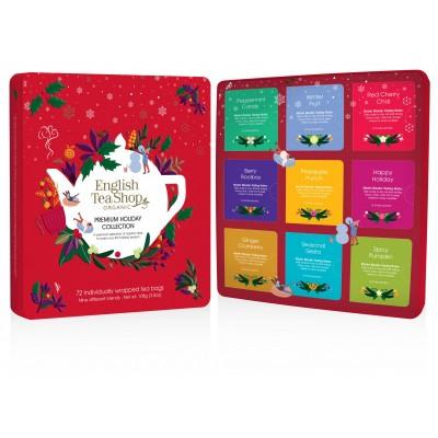 The English Tea Shop Vánoční dárková plechová kazeta...