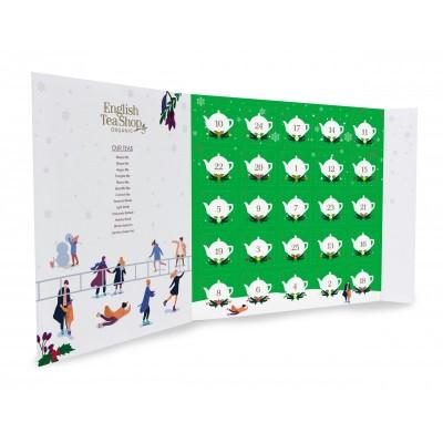 English Tea Shop Adventní kalendář Zelený ETS25 pyramidek...