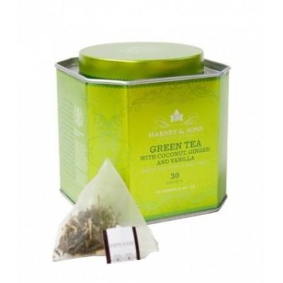 Harney & Sons čaj Royal Zelený čaj s kokosem a zázvorem