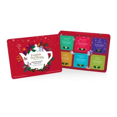 ETS Vánoční prémiová kolekce Červená 36 sáčků
