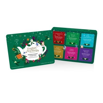 ETS Vánoční prémiová kolekce Zelená 36 sáčků