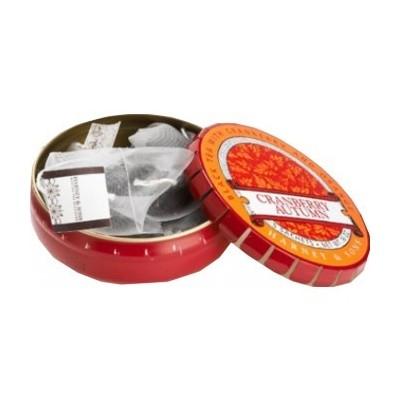 HARNEY & SONS Cranberry Autumm - 5 hedvábných sáčků v plechovce