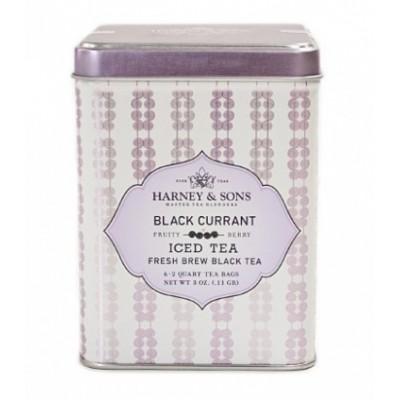 Harney and Sons Organic Black Currant Iced Tea