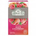 Ahmad Tea Broskev s malinou 20 x 1.8 g